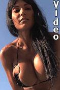 Fernanda Ferrari teases the camera man with her huge tits