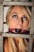 Chloe Toy caged