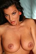 Nancy Erminia takes off her bra for us