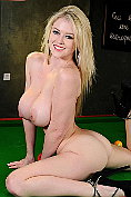 Brook Little gets naked on the pool table