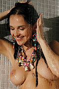 Jenya D takes a shower at Met Art