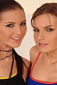 Mili Jay and Suzie Carina
