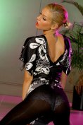Fabulous blonde Natasha Marley at OnlyTease