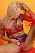 Adriana Malkova Strips Down To Her Heels