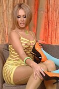 Katy & Zuzana Z. : Babes in stockings caressing