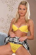 Hot blonde Laura Crystal shows off at Nubiles.net