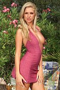 If you think this blonde looks hot in her dress then wait until you see her without it