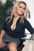 Sexy secretary Kate Banks
