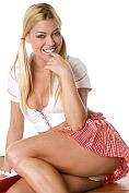Adriana M : Adriana stripping at school