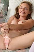 Tabitha pleasures her pussy