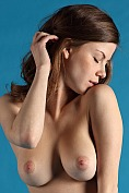 Danica shows off her amazing breasts