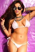 Stunning bikini babe