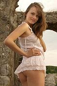Maya gets naked amongst the ruins