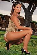 Jana Mrazkova fully naked outside