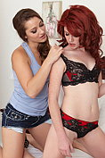 Dani Daniels and Elle Alexandra are eating pussies after the shoot