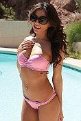 Brittany Bliss takes off her bikini