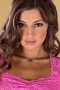 Beautiful Melena pleasures herself