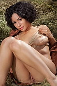 Pammie Lee teases in the hayloft