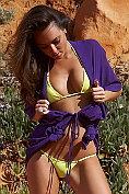 Jamie Jenkins teases out of her bikini