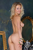 Blonde babe Annabell is naked from the start of this beautiful photoset
