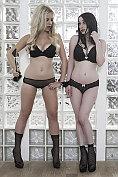Billie Judd dominating her girlfriend Jemma