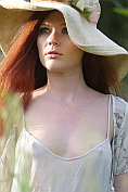 Mia Sollis comes home and takes off her see-through summer dress