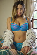 Lacey Banghard pulls her knickers down