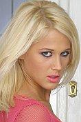 Beautiful blonde babe Dorina